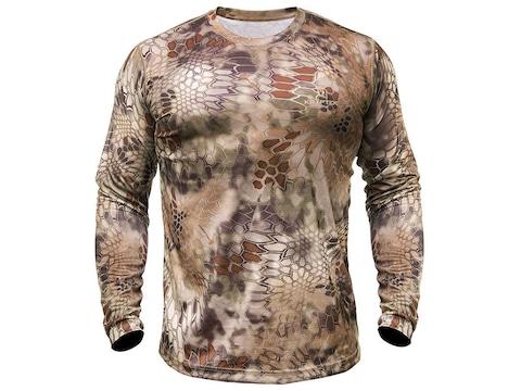 Kryptek Men's Hyperion Long Sleeve T-Shirt Polyester