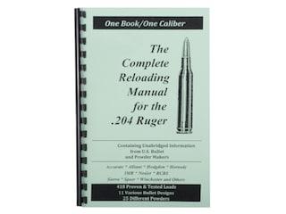Loadbooks USA 204 Ruger Reloading Manual