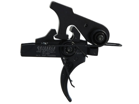 Geissele SSA Super Semi Automatic Trigger Group AR-15, LR-308 Two Stage Matte