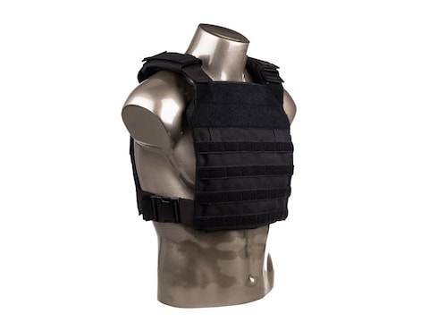 AR500 Armor Guardian Body Armor Plate Carrier Nylon Black