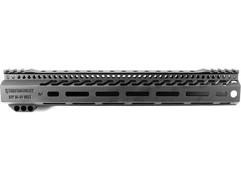 "Tacticool22 Free Float Hand Guard S&W M&P 15-22 12.5"" Aluminum Black"