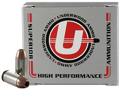 Underwood Ammunition 40 S&W 155 Grain Hornady XTP Jacketed Hollow Point Box of 20