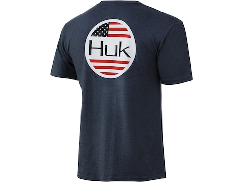 Huk Men's Americana Flag Short Sleeve T-Shirt