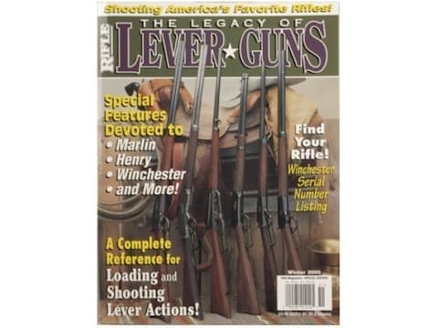 The Legacy of Lever Guns by Wolfe Publishing Editors