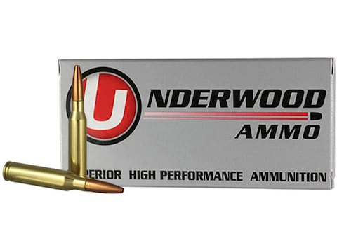 Underwood Ammunition 7mm-08 Remington 142 Grain Lehigh Controlled Chaos Lead-Free Box o...