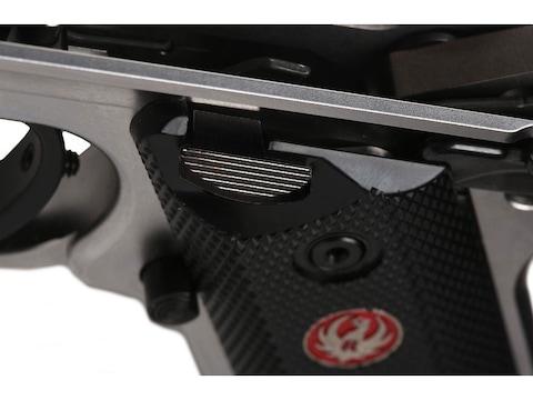 Volquartsen Extended Bolt Release Ruger Mark IV Black