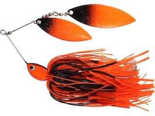 Northland Reed Runner Magnum Double Willow Spinnerbait 3/4oz Blackbird Painted