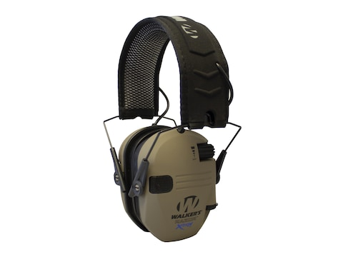 Walker's Razor Slim XTRM Low Profile Electronic Earmuffs (NRR 21dB)