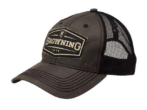 Browning Atlus Trucker Cap Polyester Black