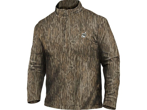 Ol' Tom Men's Performance 1/4 Zip Long Sleeve Shirt Polyester