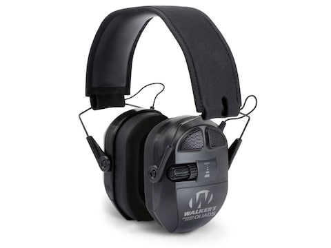 Walker's Ultimate Power Muff Quads Electronic Earmuffs (NRR 26dB)
