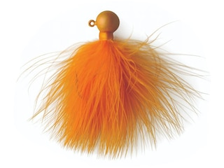 Eagle Claw Marabou Crappie Jig Ginger 1/4 oz