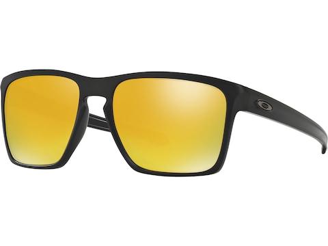 Oakley Sliver XL Sunglasses Matte Black Frame/24k Iridium Lens