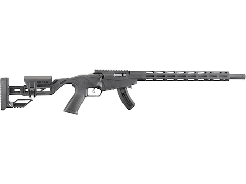 "Ruger Precision Rimfire Rifle 18"" Threaded Barrel Black"