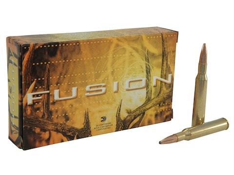 Federal Fusion Ammunition 270 Winchester 130 Grain Bonded Spitzer Boat Tail Box of 20