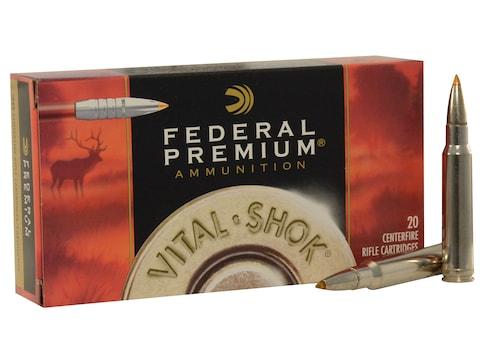 Federal Premium Ammunition 338 Winchester Magnum 200 Grain Trophy Bonded Tip Box of 20