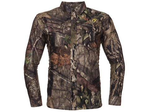 ScentBlocker Men's Terratec Scent Control Button-Up Long Sleeve Shirt