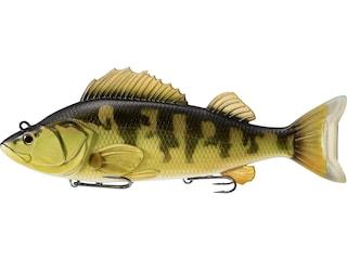 "LIVETARGET Yellow Perch 4.5"" Swimbait Gold/Olive"