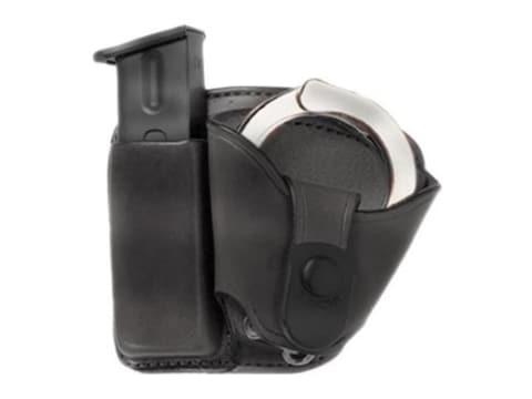 Bianchi 45 Magazine and Cuff Pouch Combo Paddle Leather