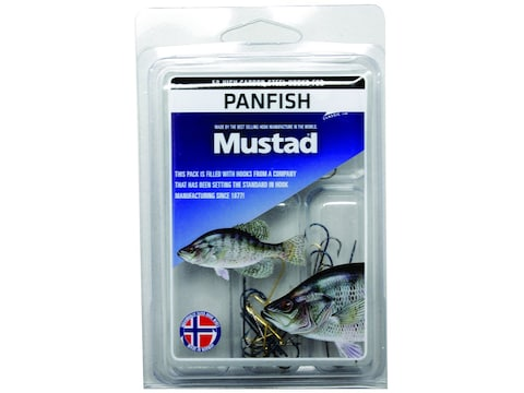 Mustad 50pc Panfish Hook Assortment
