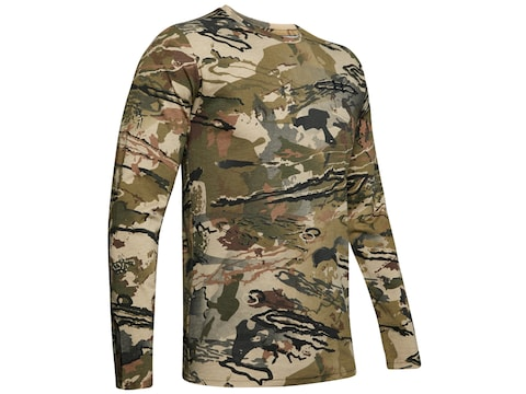 Under Armour Men's UA Early Season Scent Control Long Sleeve T-Shirt Cotton/Polyester