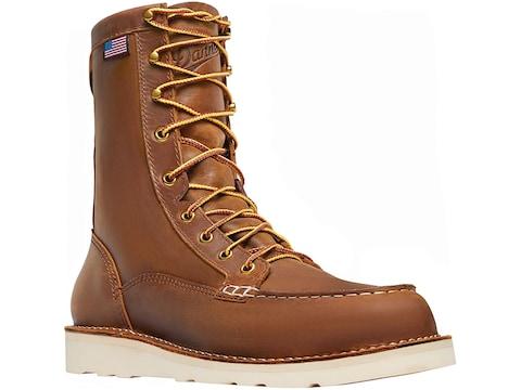 "Danner Bull Run Steel Toe 8"" Work Boots Leather Men's"