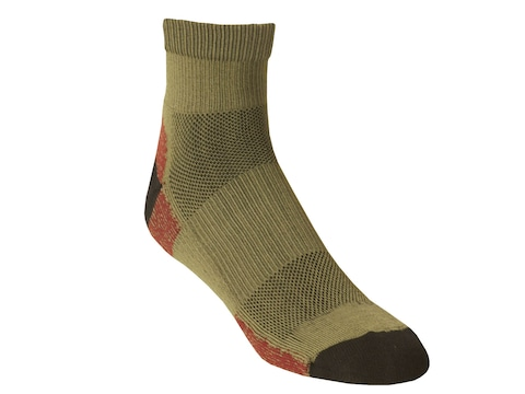 Kenetrek Men's Sonora Lightweight Hiker Socks Synthetic Blend Green 1 Pair