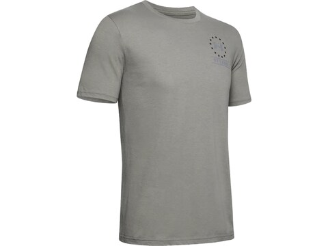 Under Armour Men's UA Freedom By Land T-Shirt Short Sleeve Polyester/Cotton