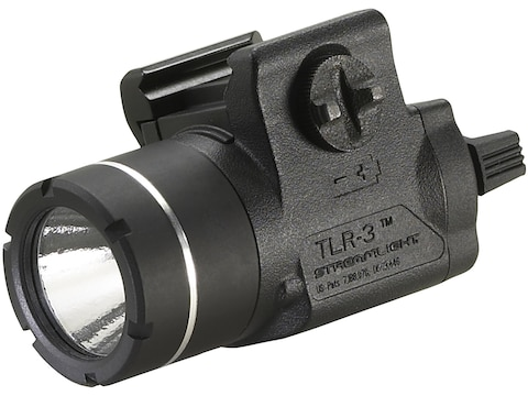 Streamlight TLR-3 Weapon Light LED with 3V CR2 Battery fits Picatinny or Glock-Style Ra...