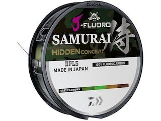 Daiwa J-Fluoro Samurai Fluorocarbon Fishing Line 2lb 220yd Hidden