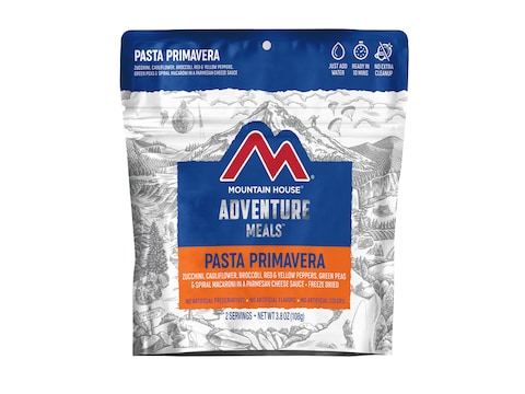 Mountain House Pasta Primavera Freeze Dried Food 2 Serving