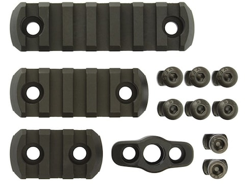 CMC Triggers 4-Piece M-Lok Accessory Kit Aluminum Black