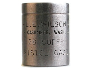 L.E. Wilson Max Cartridge Gauge 38 Super