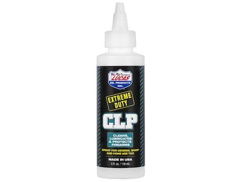 Lucas Oil Extreme Duty CLP (Bore Cleaning Solvent, Lubricant, Rust Preventative) 4 oz L...