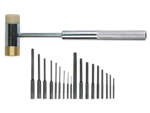 Wheeler Roll Pin Punch Master Set with Hammer 22-Piece