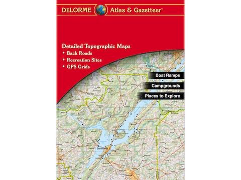 Delorme Atlas and Gazetteer