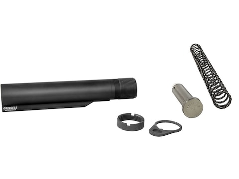 Geissele Premium Receiver Extension Buffer Tube Assembly with Super 42 Buffer Mil-Spec ...