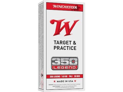Winchester USA Ammunition 350 Legend 145 Grain Full Metal Jacket