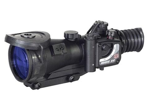 ATN MARS4x-3 3rd Generation Night Vision Rifle Scope 4x 74mm Illuminated Red Mil-Dot Re...