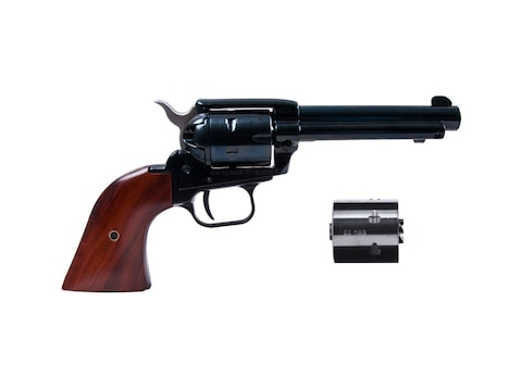 """Heritage Combo Revolver 22 Long Rifle 4.75"""" Barrel, 6-Round with 22 Winchester Magnum R..."""