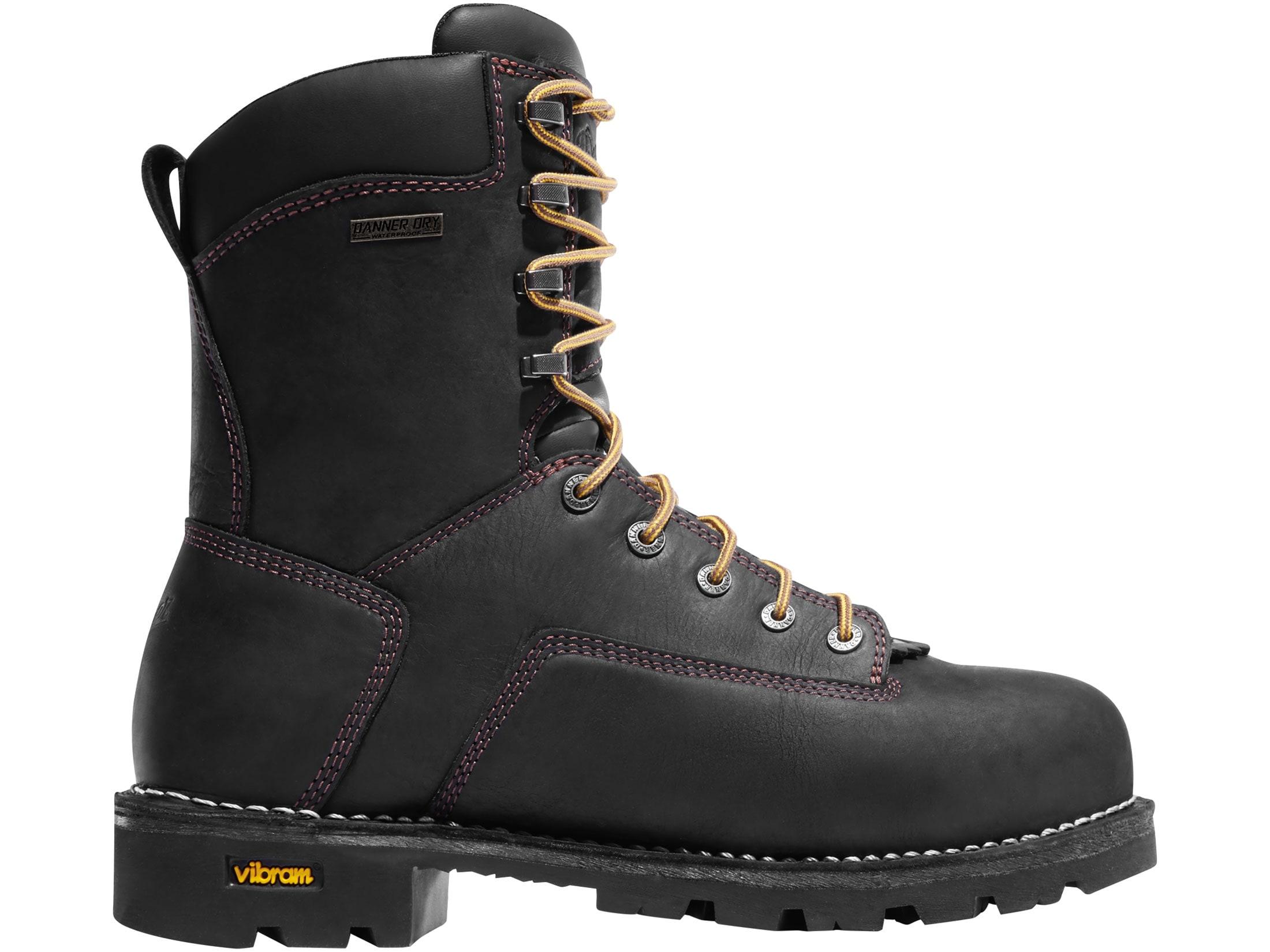 dd36600d336 Danner Gritstone 8 Aluminum Toe Work Boots Leather Black Men's 9.5 D