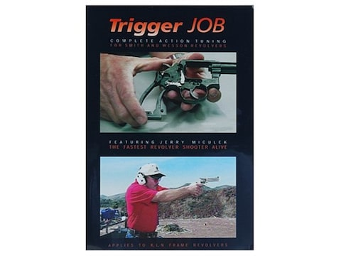 """Gun Video """"Trigger Job: Complete Action Tuning for S&W Revolvers with Jerry Miculek"""" DVD"""