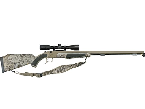 "CVA Accura PR Muzzleloading Rifle with KonusPro 3-10x44mm IR Scope 50 Caliber 28"" Flute..."