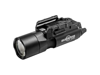 Surefire X300U-A Ultra Weapon Light with Rail-Lock Mounting Rail LED with 2 CR123A Batteries Aluminum Black