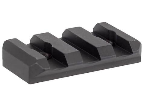 Arisaka Defense Low Profile Picatinny Rail Section KeyMod Aluminum Black