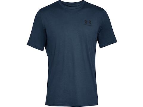 Under Armour Men's UA Sportstyle Left Chest Short Sleeve T-Shirt Cotton/Poly