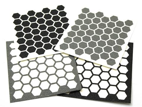 Hexmag Grip Tape Die Cut Adhesive Hex Sheet