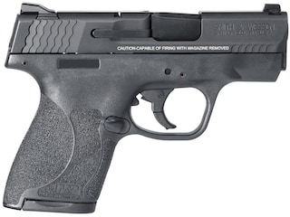 """Smith & Wesson M&P Shield M2.0 Pistol 9mm Luger 3.1"""" Barrel 8-Round Black with Thumb Safety"""