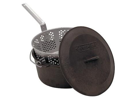 Camp Chef 7.5 Qt Deep Fryer Set Cast Iron