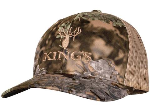 King's Camo Men's Trucker Hat Cotton